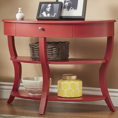 Nilsson Console Table Finish: Samba Red