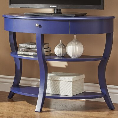 Nilsson Console Table Finish: Twilight Blue