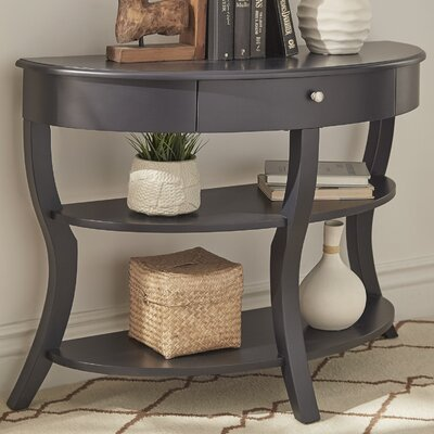 Nilsson Console Table Finish: Vulcan Black