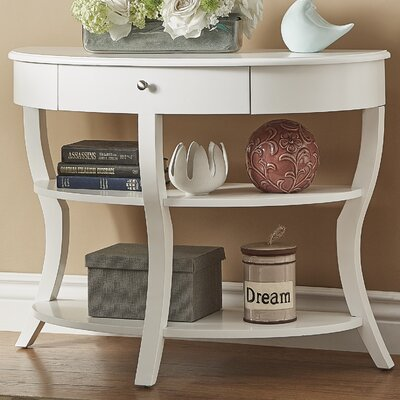 Nilsson Console Table Finish: White