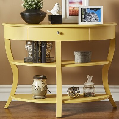 Nilsson Console Table Finish: Yellow