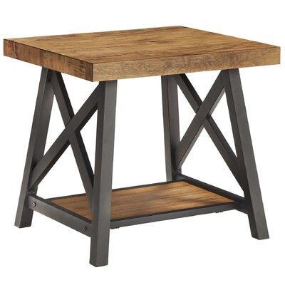 Silvis End Table Color: Oak