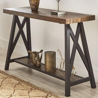 Silvis Console Table Finish: Brown