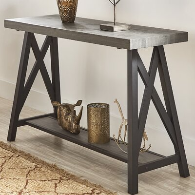 Silvis Console Table Finish: Gray