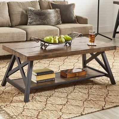 Silvis Coffee Table Finish: Brown