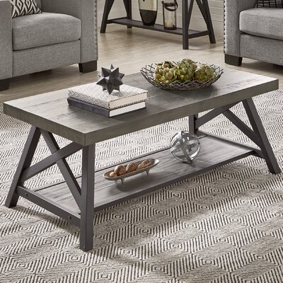 Silvis Coffee Table Finish: Gray
