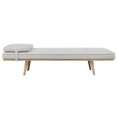 Rho Chaise Lounge Upholstery: Beige