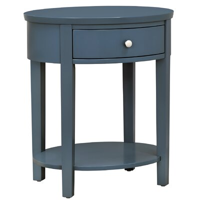 Newland End Table Finish: Bluesteel