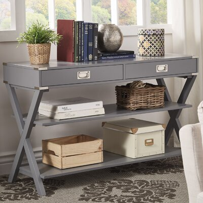 Heracles Console Table Finish: Frost Gray