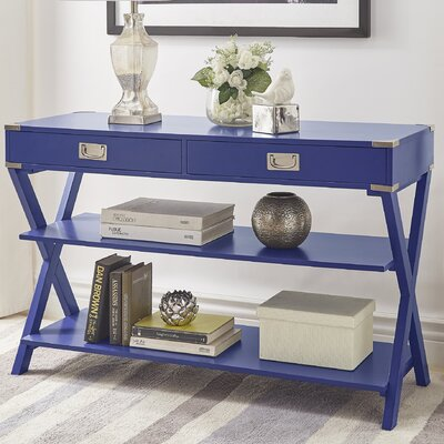 Heracles Console Table Finish: Twilight Blue