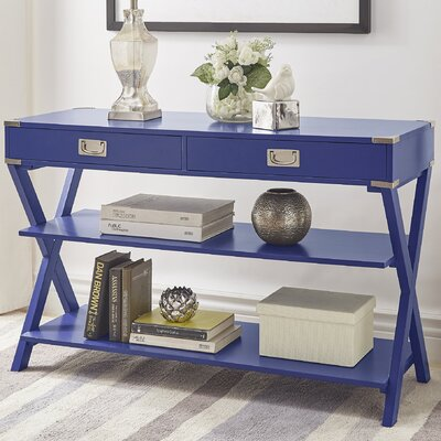 Heracles Console Table Finish: Heritage Blue
