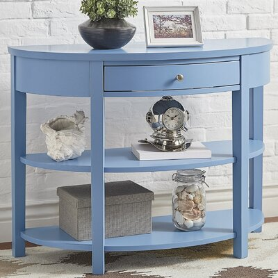 Kiantone Console Table Finish: Heritage Blue