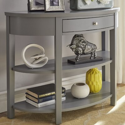 Kiantone Console Table Finish: Frost Gray