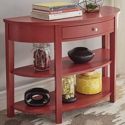 Kiantone Console Table Finish: Samba Red