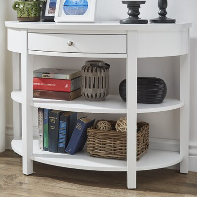 Kiantone Console Table Finish: White