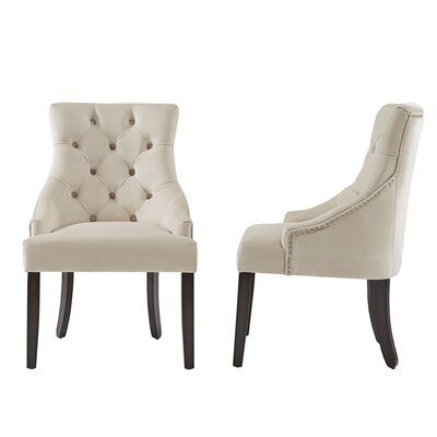 Agnes Side Chair Upholstery : Beige