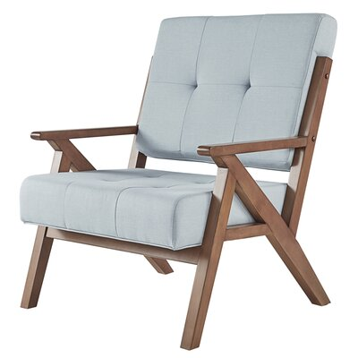 Derouen Armchair Upholstery: Hazy Blue
