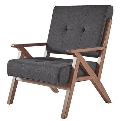 Derouen Armchair Upholstery: Dark Gray