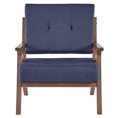 Derouen Armchair Upholstery: Twilight Blue