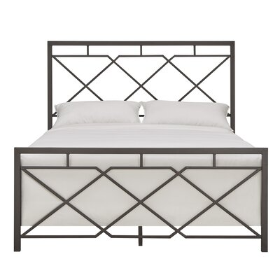 Ingersoll Metal Platform Bed Size: King
