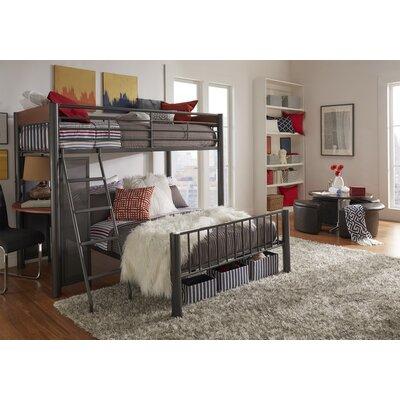 Lesa L-Shaped Bunk Bed with Desk