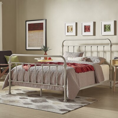 Cavaillon Panel Bed Color: Silver Birch, Size: Queen