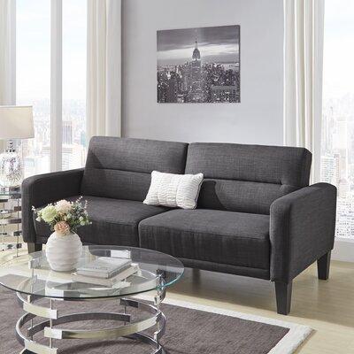 Colhaven Modern Tufted Back Track Modular Sleeper Sofa Upholstery: Single Tufted Back