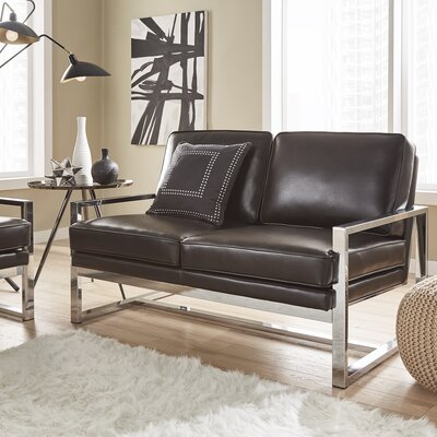 Adalbert Metal Loveseat