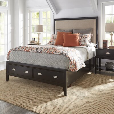 Portside Upholstered Storage Platform Bed Size: King