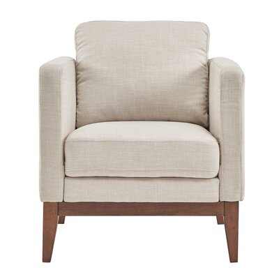 Alba Armchair Upholstery: Beige