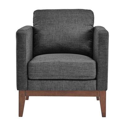 Alba Armchair Upholstery: Dark Gray