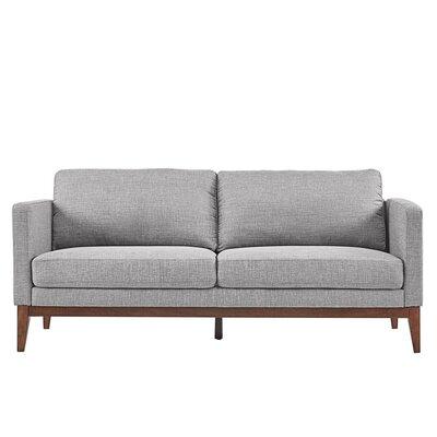 Alba Sofa Upholstery: Gray