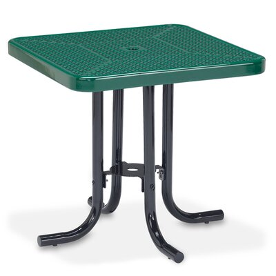 Veranda Dining Table Finish: Green