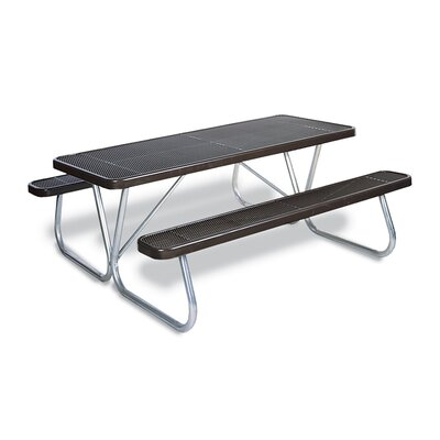 Picnic Table Finish: Black