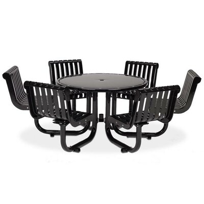 Rendezvous Picnic Table Finish: Black