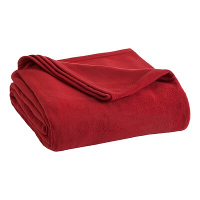 Vellux Fleece  Blanket Color: Sun-Dried Tomato, Size: Full/Queen