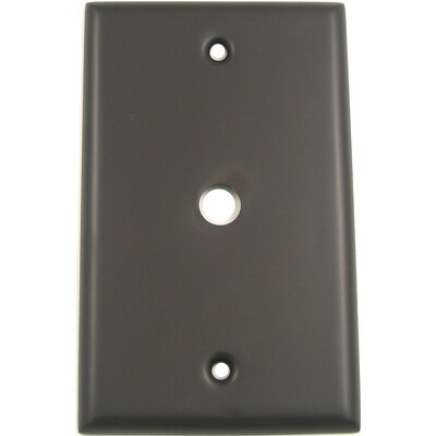 Single Cable Switch Plate (Set of 5) Finish: Oil Rubbed Bronze