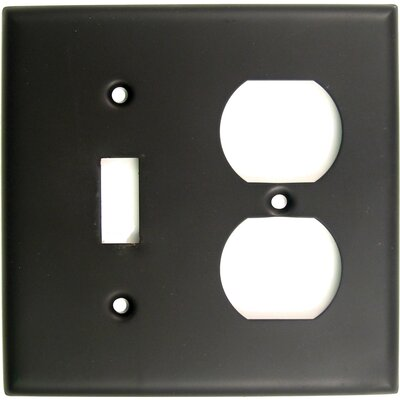 Double and Recep Switch Plate Finish: Oil Rubbed Bronze