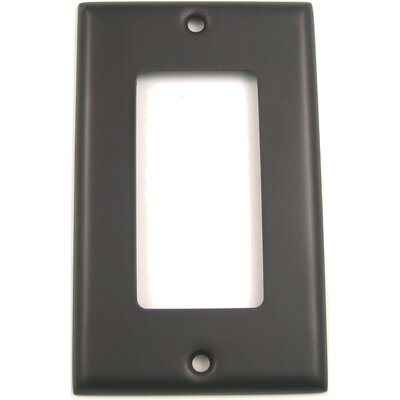 Single Rocker Switch Plate Finish: Oil Rubbed Bronze