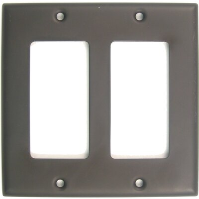 Double Rocker Switch Plate (Set of 5) Finish: Oil Rubbed Bronze