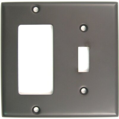 Double Rocker Switch Plate Finish: Oil Rubbed Bronze