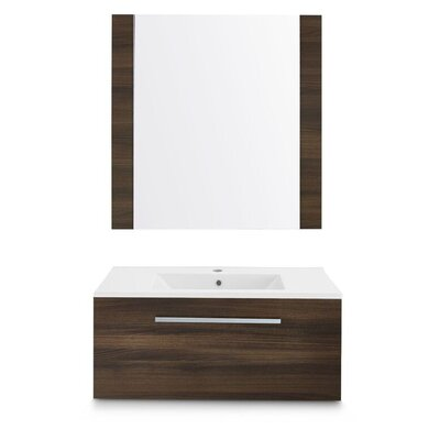 Rochester 72 Single Bathroom Vanity Set with Mirror