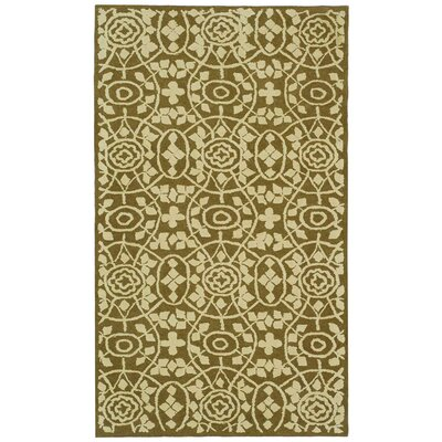 Bloomery Garden Row Contemporary Rug Rug Size: 96 x 136