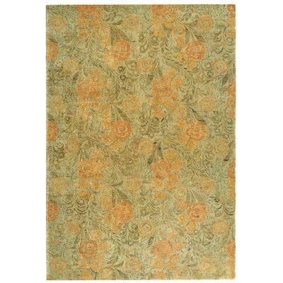 Arcadia Woodland/Green Area Rug Rug Size: 56 x 86