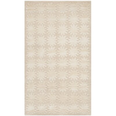 Hand-Tufted Milky Way Area Rug Rug Size: 79 x 99