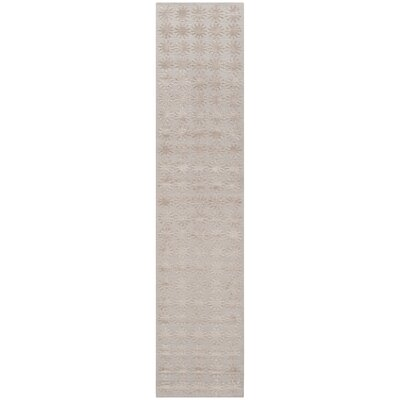 Hand-Tufted Day/Break Area Rug Rug Size: Runner 23 x 10