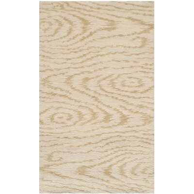 Hand-Tufted Pine Nut Area Rug Rug Size: 39 x 59