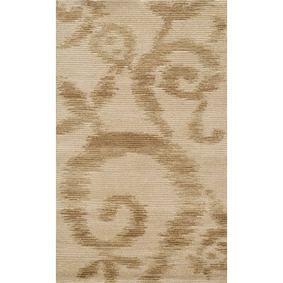 Hand-Tufted Raw Umber Area Rug