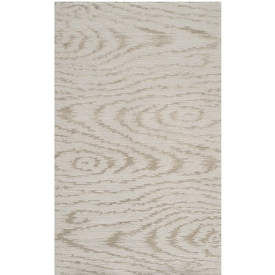 Hand-Tufted Driftwood Area Rug Rug Size: 39 x 59