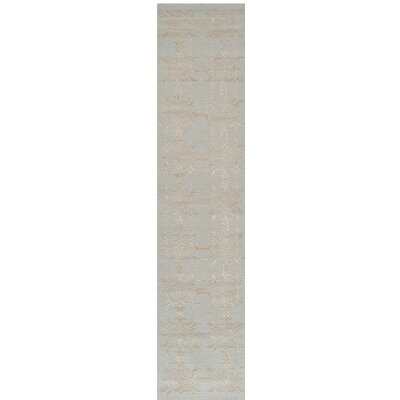 Hand-Tufted Tourmaline Area Rug